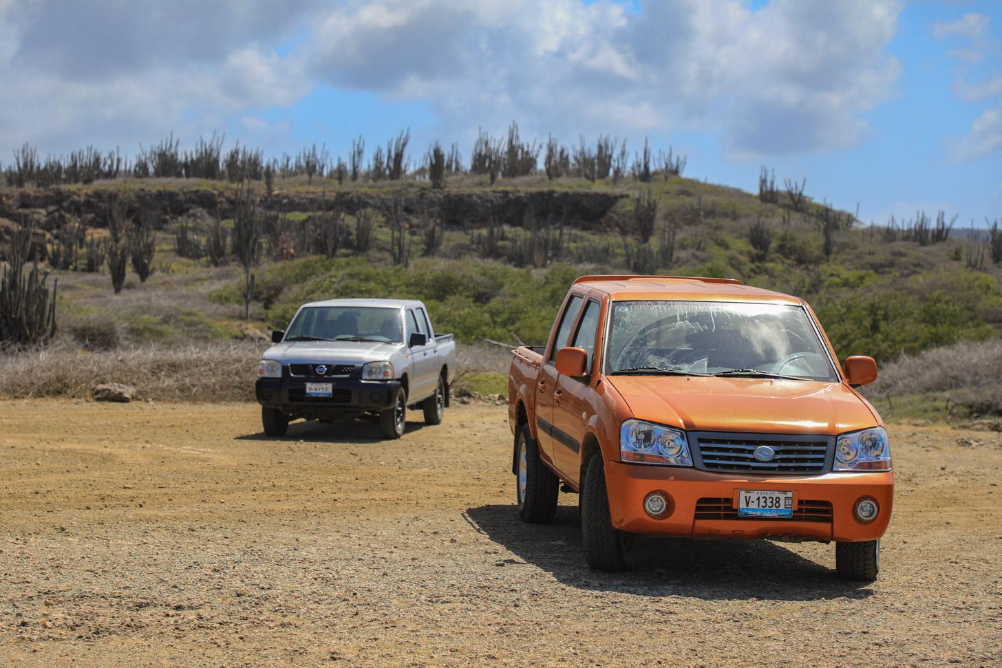 Auto huren op Bonaire