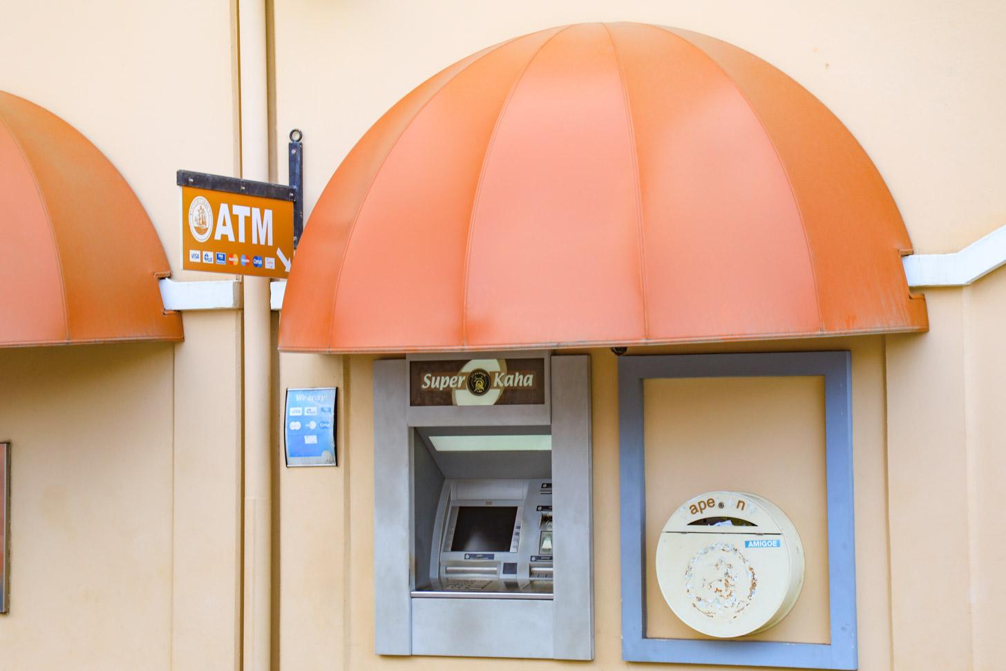 geldautomaat op Bonaire
